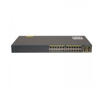 سوئیچ شبکه سیسکو 24 پورت WS-C2960-Plus 24TC-L